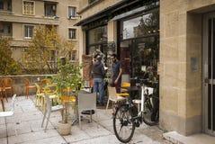 Frances de Marseille de restaurant Images stock