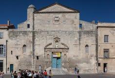 Frances de Notre Dame de la Major Church Arles Provence photographie stock