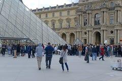 Frances de Paris, récemment le site des attaques terroristes multiples Photo stock