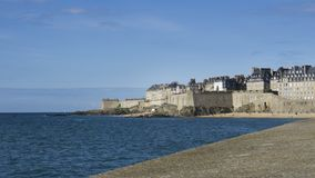 Frances de Saint Malo la Bretagne Photo stock