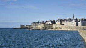 Frances de Saint Malo la Bretagne Images stock