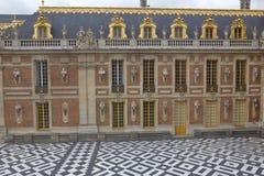 FRANCES DE VERSAILLE : Cour du château De Versailles, le domaine de la maison de Versaille de Louis XIV, France - 5 août 2015 Photos stock