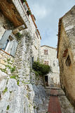 Frances de village d'Eze Image stock