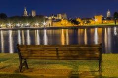Frances de ville d'Avignon Image stock