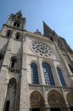Frances, la cathédrale de Chartres dans Eure et Loir image stock