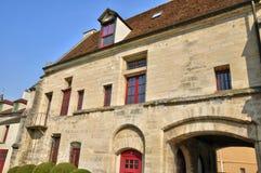 Frances, la ville de Poissy Images stock