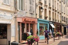 Frances, la ville pittoresque d'en Laye de St Germain Images libres de droits