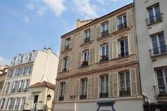 Frances, la ville pittoresque d'en Laye de St Germain Photos stock