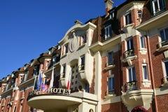 Frances, la ville pittoresque de Le Touquet Photographie stock libre de droits