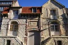 Frances, la ville pittoresque de Le Touquet Photo stock