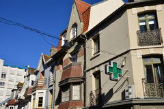Frances, la ville pittoresque de Le Touquet Photo libre de droits
