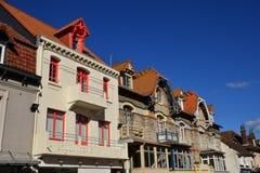 Frances, la ville pittoresque de Le Touquet Photos stock