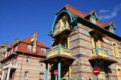 Frances, la ville pittoresque de Le Touquet Photographie stock