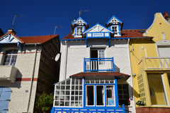 Frances, la ville pittoresque de Le Touquet Image libre de droits