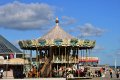 Frances, la ville pittoresque de Le Touquet Image stock