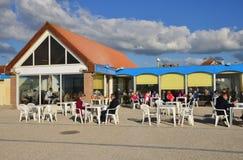 Frances, la ville pittoresque de Neufchatel Hardelot Photos libres de droits