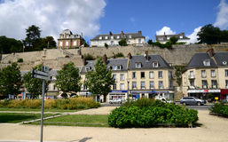 Frances, la ville pittoresque de Pontoise Photo libre de droits