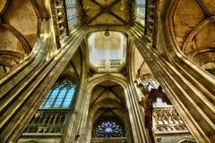 Frances, la ville pittoresque de Rouen dans Normandie Photographie stock