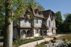Frances, la ville pittoresque de Vernouillet Images libres de droits