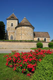 Frances, le village pittoresque de Thoiry Photo stock