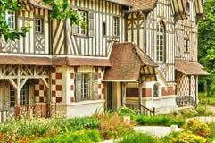 Frances, maison de Les Buissons dans la ville de Vernouillet Image stock