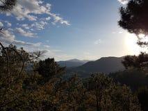 Frances Mountains Stockbild