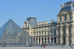 Frances, Paris, jardin de Tuileries, Louvre Art Museum Image libre de droits