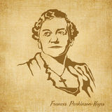 Frances Parkinson Keyes Digital Hand drawn Illustration Stock Photos