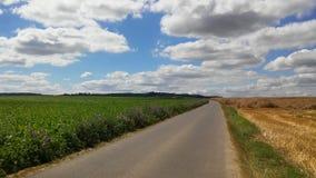 Frances : routes d'emballement Photos stock