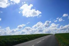 Frances : routes d'emballement Photo stock