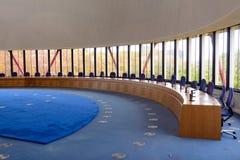 Frances, Strasbourg - 29 octobre 2015 : Droits de l'homme construisant - salle de réunion Photo stock