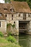 Frances, village pittoresque d'Ande dans le normandie Images stock