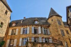 Frances, ville pittoresque de La Caneda de Sarlat dans Dordogne photo libre de droits