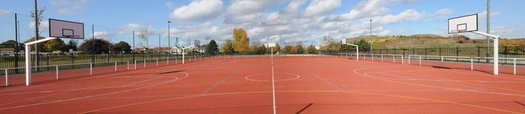 Frances, Yvelines, au sol de sports dans Les Mureaux image stock