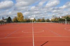 Frances, Yvelines, au sol de sports dans Les Mureaux photo stock
