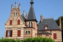Frances, Yvelines, manoir de Bouvaist dans Les Mureaux Photos stock