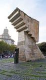 Francesc Maci� monument at Placa de Catalunya Royalty Free Stock Photos