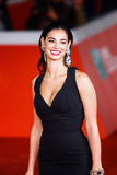 Francesca Chillemi walks a red carpet Royalty Free Stock Images