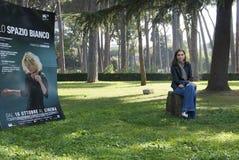 Francesca Comencini - diretor foto de stock