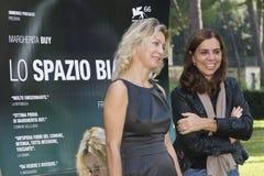 Francesca Comencini en Margherita kopen Royalty-vrije Stock Afbeeldingen