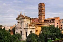 francesca romana Rome Santa Obrazy Stock