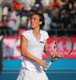 Francesca Schiavone at the 2010 China Open Royalty Free Stock Photo
