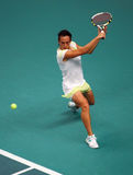 Francesca SCHIAVONE (ITA) at Open GDF Suez 2010 Royalty Free Stock Photography