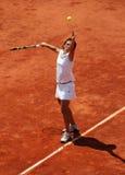 Francesca SCHIAVONE (ITA) at Roland Garros 2010 Stock Image