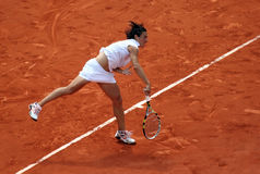 Francesca SCHIAVONE (ITA) at Roland Garros 2010 Royalty Free Stock Photos