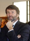 Franceschini van Dario, Italië, minister Royalty-vrije Stock Foto