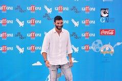 Francesco Arca  al Giffoni Film Festival 2014. Giffoni Valle Piana, Salerno, Italia - 22 Luglio, 2014 : Francesco Arca  al Giffoni Film Festival 2014 - il 22 Royalty Free Stock Photo