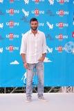 Francesco Arca  al Giffoni Film Festival 2014. Giffoni Valle Piana, Salerno, Italia - 22 Luglio, 2014 : Francesco Arca  al Giffoni Film Festival 2014 - il 22 Stock Photo