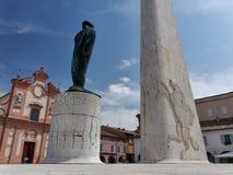 Francesco Baracca monument Stock Photo