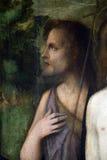 Francesco Bissolo: Święty John baptysta fotografia royalty free